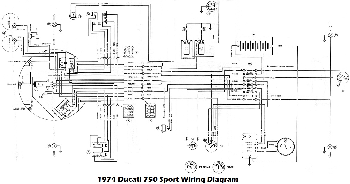 ducati 860 gt wiring diagram wire data schema u2022 rh paiku co ducati 848 wiring diagram ducati pantah wiring diagram