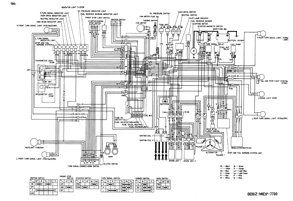 Honda Goldwing Wiring Diagram Audio System Schematic Vr6 Engine Wirdig Shadow 700 Get Image About