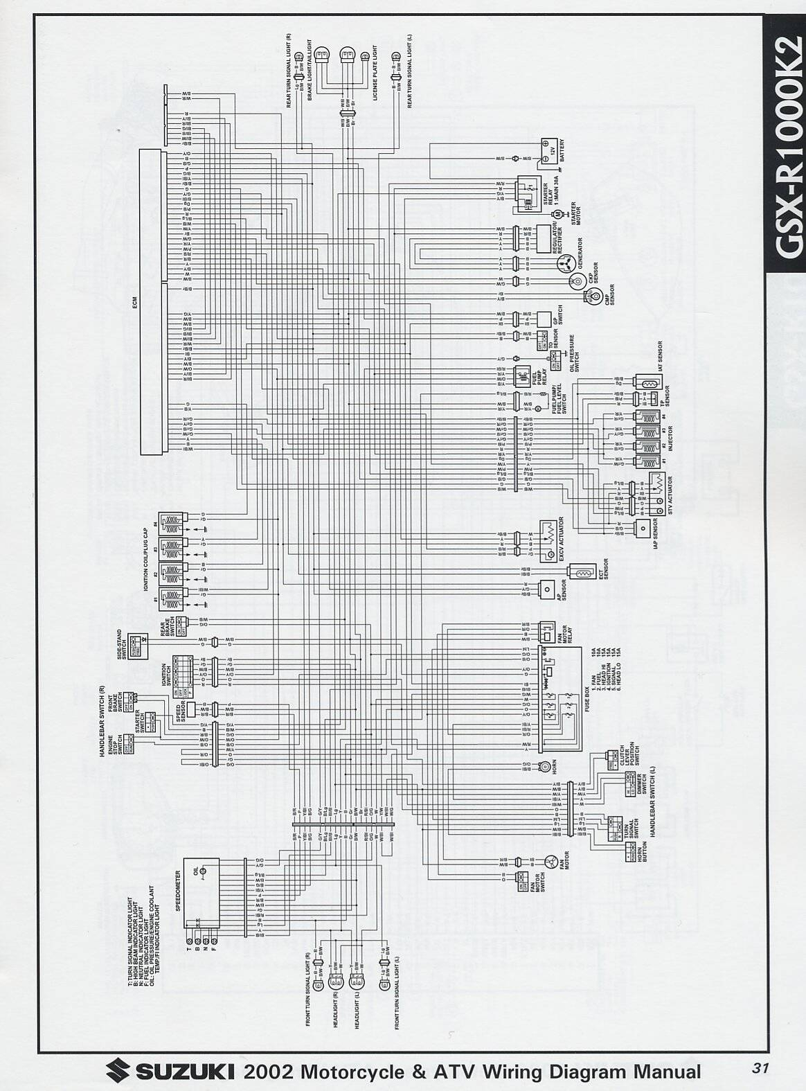 Virago 1000 Wiring Diagram And Schematics 1985 2002 Suzuki Gsx R Diagrams Xv750 Yamaha
